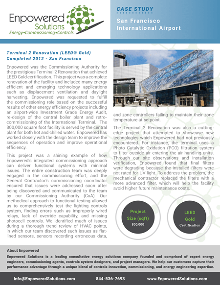 Preview of Enpowered Solutions Case Study - San Francisco International Airport